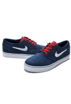 Кроссовки Nike Stefan Janoski Blue (V-217)