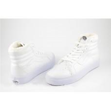 Кеды Vans Sk8 Hi Winter Boots Белые (Е261)