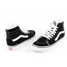 Кеды Vans Sk8 Hi Winter Boots Черные замша (WА564)