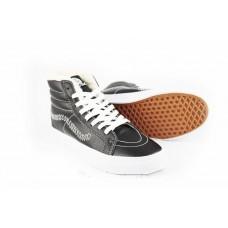 Кеды Vans Sk8 Hi Winter Boots Черные рисунок (V98)