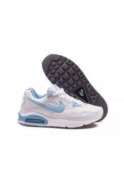 Кроссовки Nike Air Max 90 Skyline Бело - голубые (А217)