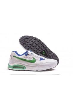Кроссовки Nike Air Max 90 Skyline Бело - зеленые (А220)