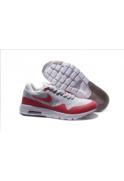 Кроссовки Nike Air Max 87 Ultra Flyknit white/red (А514)
