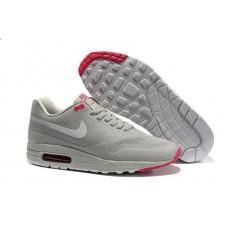 Кроссовки Nike Air Max Hyperfuse Серо-бело-розовые (А351)