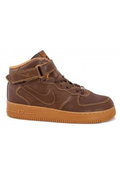 Кроссовки Nike Air-Force High brown (А-312)