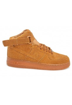 Кроссовки Nike Air Force High Suede brown (АМ413)