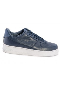 Кроссовки Nike Air Force Low leather navy/white (А287)