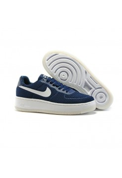 Кроссовки Nike Air Force Low navy/white (А216)