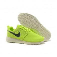 Кроссовки Nike Roshe Run Салатовые (А173)