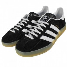 Кроссовки Adidas Gazelle Indoor Black (АW311)