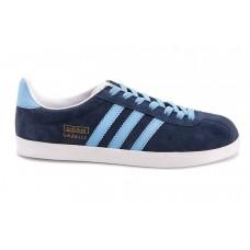 Кроссовки Adidas Gazelle Синие (А312)