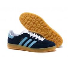 Кроссовки Adidas Gazelle Синие (АW315)