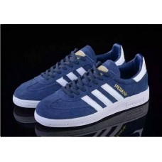 Кроссовки Adidas Originals Spezial navy/white (А-324)