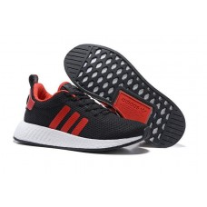 Кроссовки Adidas Originals NMD Runner black/red/white (АW424)