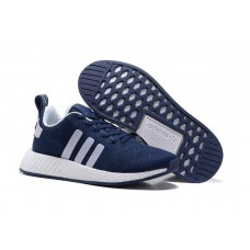 Кроссовки Adidas Originals NMD Runner navy/grey/white (АW427)