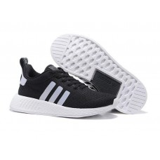 Кроссовки Adidas Originals NMD Runner black/grey/white (АW423)