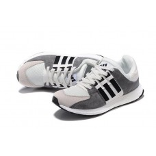 Кроссовки Adidas Equipment suede white/grey/black (А328)