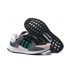 Кроссовки Adidas Equipment suede black/grey/green (А322)