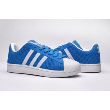 Кроссовки Adidas Superstar Stan Smith light blue/white (А114)
