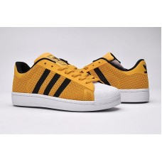 Кроссовки Adidas Superstar Stan Smith yellow/black (А118)
