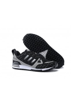 Кроссовки Adidas Оriginals ZX750 Flyknit black/grey (А241)