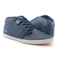 Кроссовки Adidas Neo Casual High blue (А615)