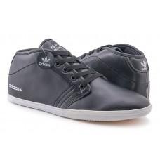Кроссовки Adidas Neo Casual High black (А617)