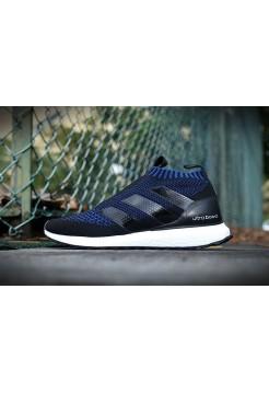 Кроссовки Adidas Ultra Boost Mid dark blue/black/white (А412)