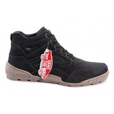 Ботинки Vans с мехом Черные (А112)