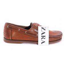 Туфли Zara Casual Светло-коричневые (А620)
