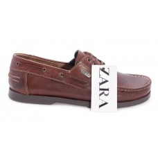Туфли Zara Casual Темно-коричневые (А620)