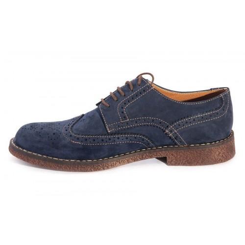 Туфли Zara Casual Светло-синие (А622)