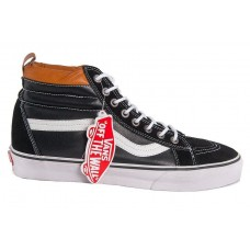 Кеды Vans Sk8 Hi Winter black/white/brown (WА367)