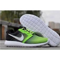 Кроссовки Nike Roshe Run grey/green (А172)