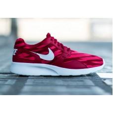 Кроссовки Nike Roshe Run red/white (АО173)