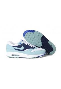 Кроссовки Nike Air Max 87 Бело-голубые (А613)