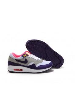 Кроссовки Nike Air Max 87 Серо-фиолетовые (ЕА615)