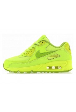 Кроссовки Nike Air Max 90 Салатовые (А214)