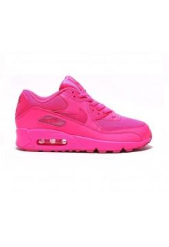 Кроссовки Nike Air Max 90 Розовые (А215)