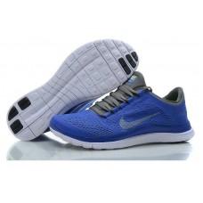 Кроссовки Nike Free Run Синие (АО114)