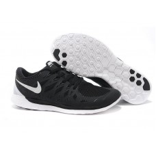Кроссовки Nike Free Run Черные (А115)