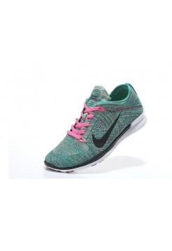 Кроссовки Nike Free Run Черно - бирюзовые (А116)
