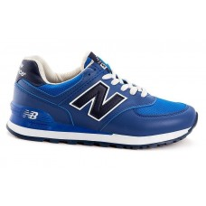 Кроссовки New Balance 574 blue/black (А112)