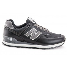 Кроссовки New Balance 574 black/grey (А113)
