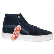 Кеды Vans Sk8 Hi dark blue (WА369)