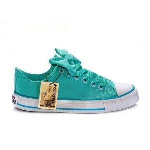 Кеды Converse Chuck Taylor All Stars Low light blue (А023)