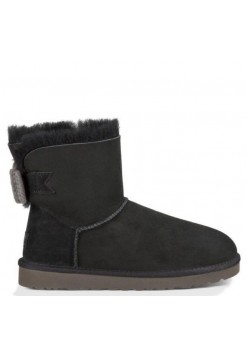 UGG Mini Bailey Knit Bow Black (Р142)