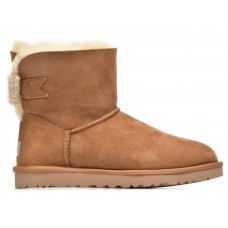 UGG Mini Bailey Knit Bow Chestnut (Р143)