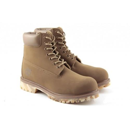 Ботинки Timberland 6 inch бежевый (V98)