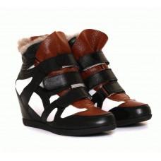 Ботинки кожаные черные 47006